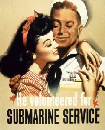 World War II Submarine Volunteer Poster